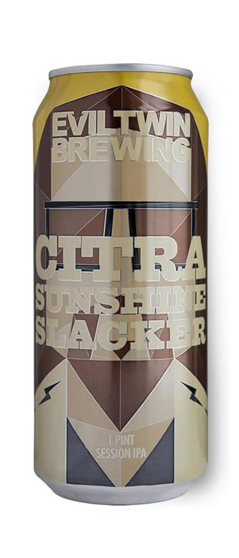 citra sunshine slacker 1 pint can shot brew haus malta