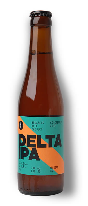 Delta IPA bottle shot Brew Haus Malta