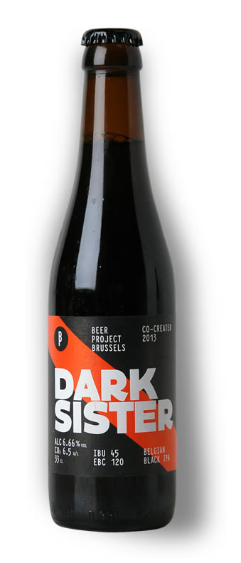 Dark Sister Black IPA bottle shot Brew Haus Malta online shop