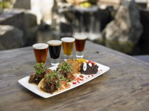 food pairing beer bar snacks