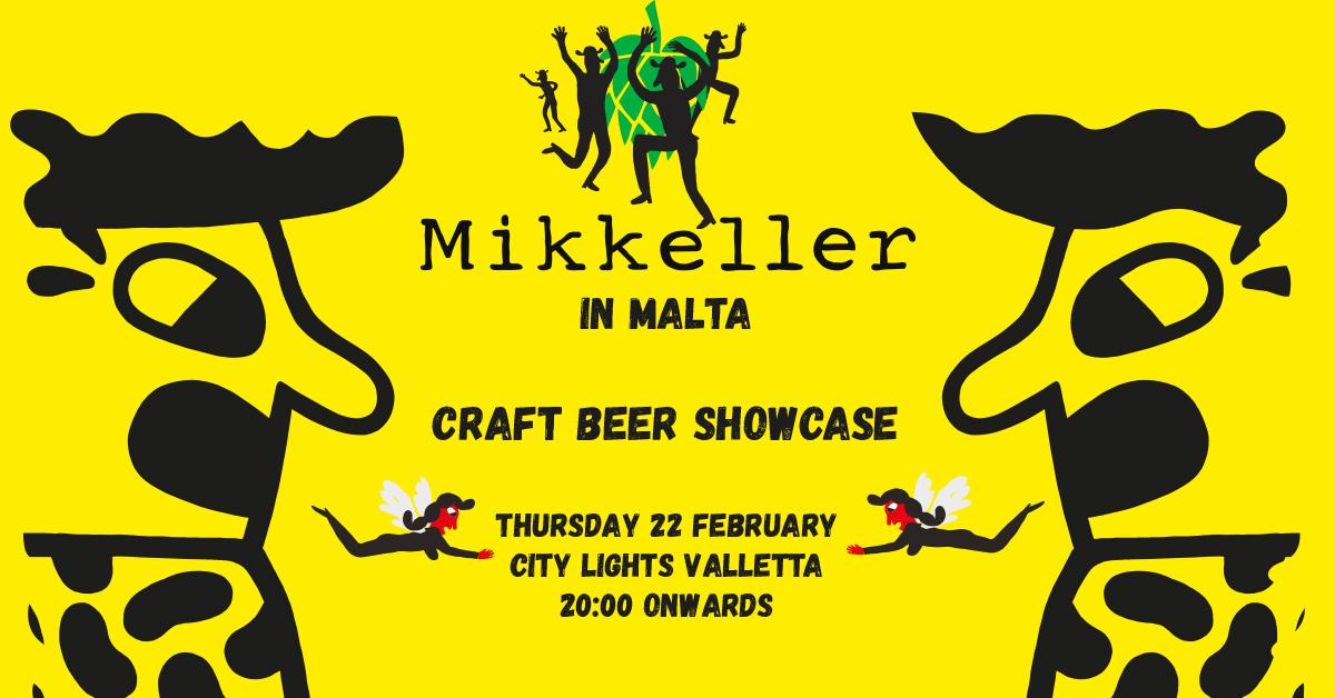 brew haus event mikkeller in malta