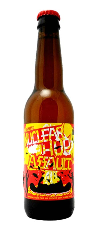 nuclear hop assault double ipa 330ml bottle brew haus mikkeller