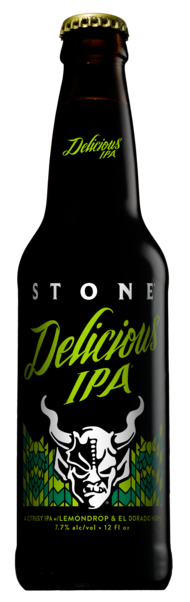 stone delicious ipa brew haus malta craft beer