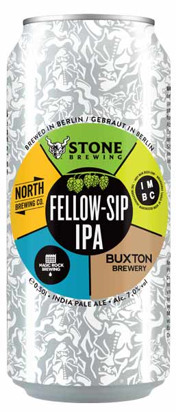 stone magic rock buxton collab fellow-sip IPA brew haus malta craft beer