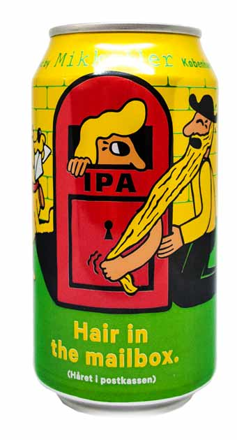 mikkeller brew haus malta craft beer hair in the mail box