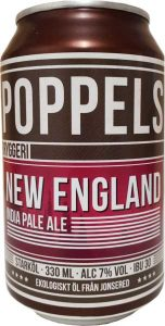 poppels brew haus malta craft beer organic NEIPA