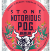 stone notorious pog brew haus malta craft beer