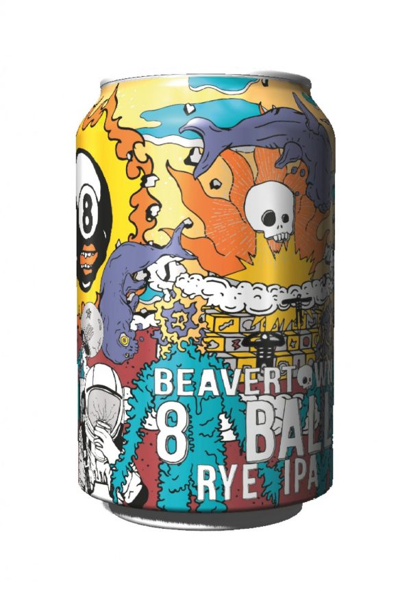 8 ball beavertown IPA Malta craft beer best value