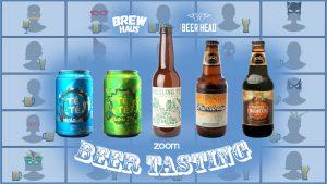 craft beer tasting online zoom malta
