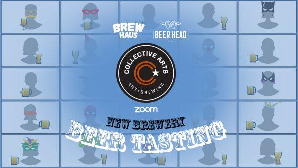 craft beer tasting malta zoom collective arts event