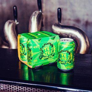 4-pack brew haus malta craft beer