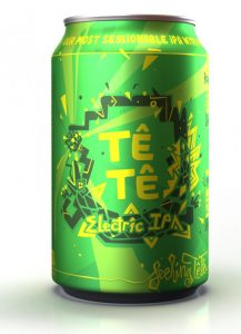 Tê Tê electric IPA brew haus malta craft beer delivery